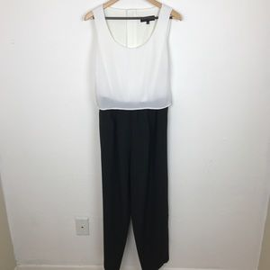 4e10866ebdd Eloquii Pants - Eloquii Black White Bow Tie Back Jumpsuit 14 Plus